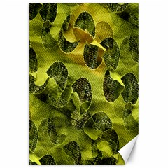 Olive Seamless Camouflage Pattern Canvas 20  x 30