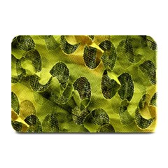 Olive Seamless Camouflage Pattern Plate Mats