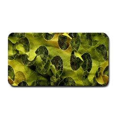 Olive Seamless Camouflage Pattern Medium Bar Mats