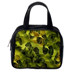 Olive Seamless Camouflage Pattern Classic Handbags (One Side)