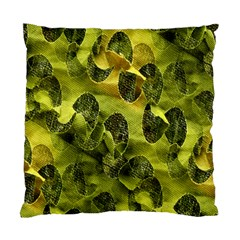 Olive Seamless Camouflage Pattern Standard Cushion Case (two Sides)
