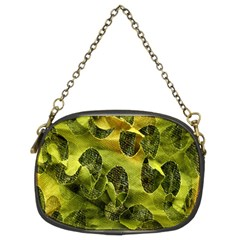 Olive Seamless Camouflage Pattern Chain Purses (two Sides)