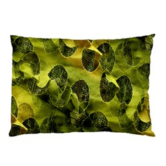 Olive Seamless Camouflage Pattern Pillow Case