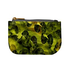 Olive Seamless Camouflage Pattern Mini Coin Purses