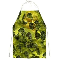 Olive Seamless Camouflage Pattern Full Print Aprons