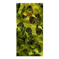 Olive Seamless Camouflage Pattern Shower Curtain 36  x 72  (Stall)
