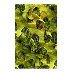 Olive Seamless Camouflage Pattern Shower Curtain 48  x 72  (Small)