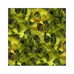 Olive Seamless Camouflage Pattern Acrylic Tangram Puzzle (6  X 6 )