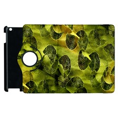 Olive Seamless Camouflage Pattern Apple Ipad 3/4 Flip 360 Case