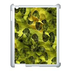 Olive Seamless Camouflage Pattern Apple Ipad 3/4 Case (white)