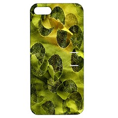 Olive Seamless Camouflage Pattern Apple Iphone 5 Hardshell Case With Stand