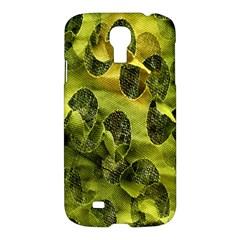 Olive Seamless Camouflage Pattern Samsung Galaxy S4 I9500/i9505 Hardshell Case