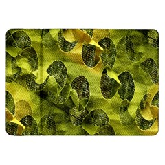 Olive Seamless Camouflage Pattern Samsung Galaxy Tab 8.9  P7300 Flip Case
