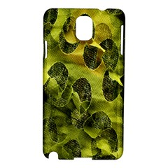 Olive Seamless Camouflage Pattern Samsung Galaxy Note 3 N9005 Hardshell Case