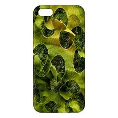 Olive Seamless Camouflage Pattern Iphone 5s/ Se Premium Hardshell Case