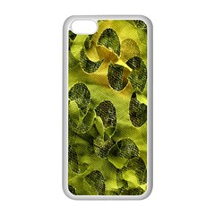 Olive Seamless Camouflage Pattern Apple Iphone 5c Seamless Case (white)
