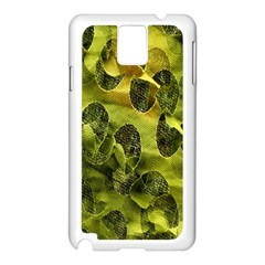 Olive Seamless Camouflage Pattern Samsung Galaxy Note 3 N9005 Case (white)