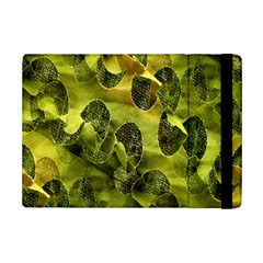 Olive Seamless Camouflage Pattern iPad Mini 2 Flip Cases