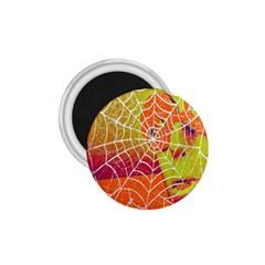 Orange Guy Spider Web 1.75  Magnets