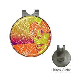 Orange Guy Spider Web Hat Clips with Golf Markers