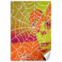 Orange Guy Spider Web Canvas 20  x 30