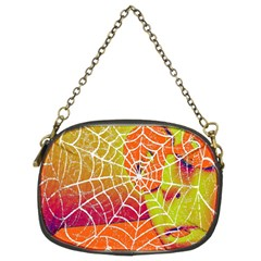Orange Guy Spider Web Chain Purses (Two Sides)