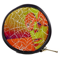 Orange Guy Spider Web Mini Makeup Bags