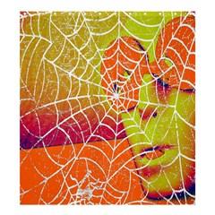 Orange Guy Spider Web Shower Curtain 66  X 72  (large)