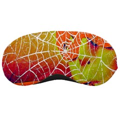 Orange Guy Spider Web Sleeping Masks