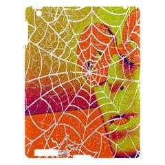 Orange Guy Spider Web Apple iPad 3/4 Hardshell Case