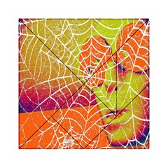 Orange Guy Spider Web Acrylic Tangram Puzzle (6  X 6 )