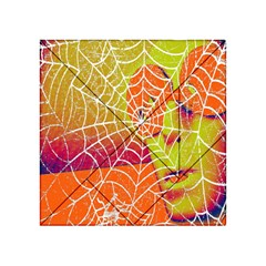 Orange Guy Spider Web Acrylic Tangram Puzzle (4  X 4 )
