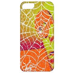 Orange Guy Spider Web Apple Iphone 5 Classic Hardshell Case