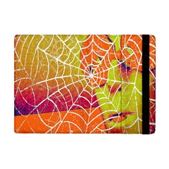 Orange Guy Spider Web Apple iPad Mini Flip Case