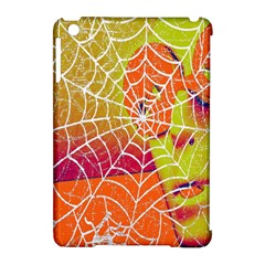 Orange Guy Spider Web Apple iPad Mini Hardshell Case (Compatible with Smart Cover)