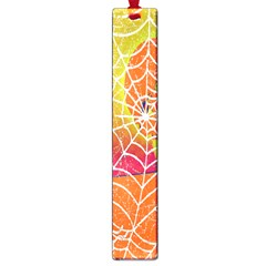 Orange Guy Spider Web Large Book Marks