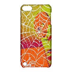 Orange Guy Spider Web Apple Ipod Touch 5 Hardshell Case With Stand