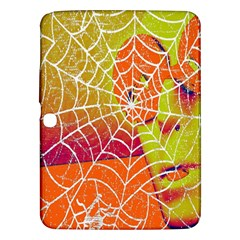 Orange Guy Spider Web Samsung Galaxy Tab 3 (10.1 ) P5200 Hardshell Case