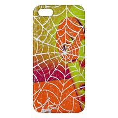 Orange Guy Spider Web Iphone 5s/ Se Premium Hardshell Case