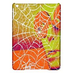 Orange Guy Spider Web Ipad Air Hardshell Cases