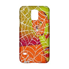 Orange Guy Spider Web Samsung Galaxy S5 Hardshell Case