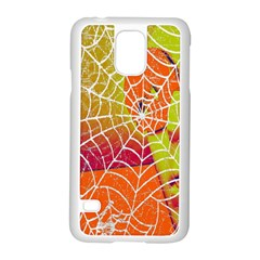 Orange Guy Spider Web Samsung Galaxy S5 Case (white)