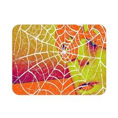 Orange Guy Spider Web Double Sided Flano Blanket (mini)