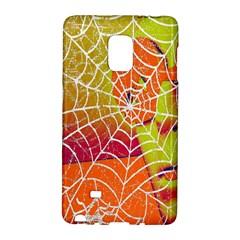 Orange Guy Spider Web Galaxy Note Edge