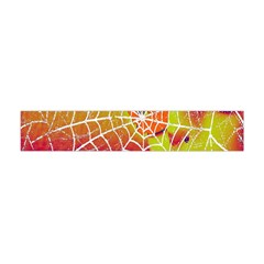 Orange Guy Spider Web Flano Scarf (mini)