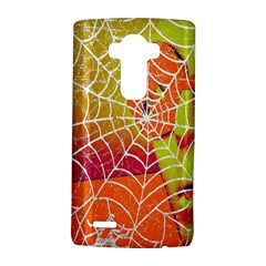 Orange Guy Spider Web LG G4 Hardshell Case