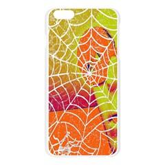 Orange Guy Spider Web Apple Seamless iPhone 6 Plus/6S Plus Case (Transparent)