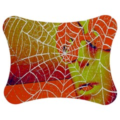 Orange Guy Spider Web Jigsaw Puzzle Photo Stand (bow)
