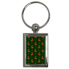 Paisley Pattern Key Chains (Rectangle)