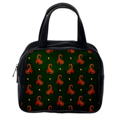 Paisley Pattern Classic Handbags (One Side)